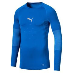PUMA FINAL EVOKNIT BL THERMO TEE LS ELECTRIC BLUE