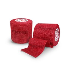 GOALKEEPERS WRIST & FINGER PROTECTION TAPE 5CM RED