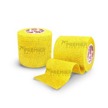 GOALKEEPERS WRIST & FINGER PROTECTION TAPE 5CM YELLOW