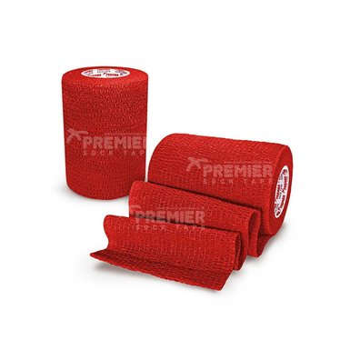 GOALKEEPERS WRIST & FINGER PROTECTION TAPE 7.5CM RED