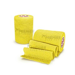 GOALKEEPERS WRIST & FINGER PROTECTION TAPE 7.5CM YELLOW