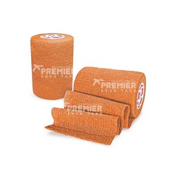 GOALKEEPERS WRIST & FINGER PROTECTION TAPE 7.5CM ORANGE