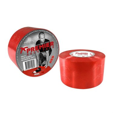 SHIN GUARD RETAINER TAPE 38MM RED