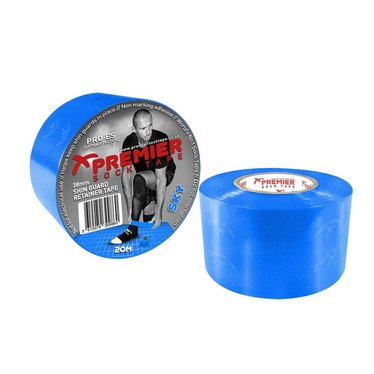 SHIN GUARD RETAINER TAPE 38MM SKY BLUE