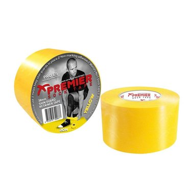 SHIN GUARD RETAINER TAPE 38MM YELLOW