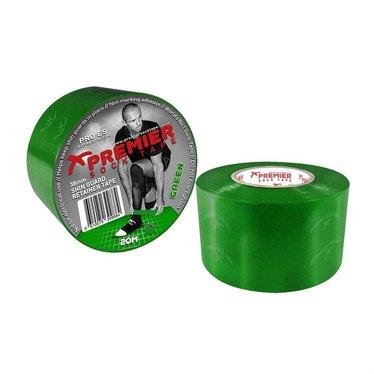 SHIN GUARD RETAINER TAPE 38MM GREEN