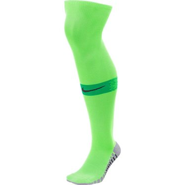 NIKE TEAM MATCHFIT SOCKS GREEN STRIKE