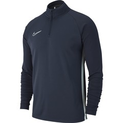 NIKE DRI-FIT ACADEMY 19 DRILL TOP ANTHRACITE