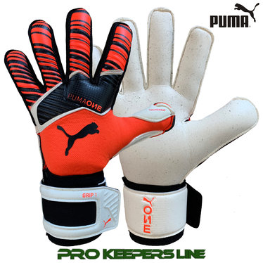 PUMA ONE GRIP 1 RC JUNIOR ENERGY RED