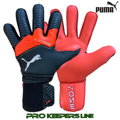 PUMA PUMA ONE PROTECT 1 PUMA BLACK/ ENERGY RED