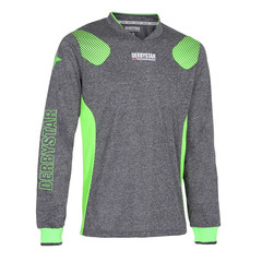 DERBYSTAR DEFENSE PRO GK JERSEY GREY/GREEN