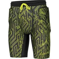 REUSCH CS SHORT PADDED BLACK/LIME