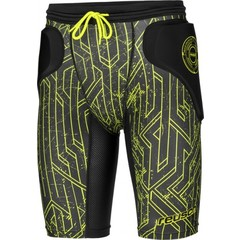 REUSCH CS FEMUR SHORT PADDED BLACK/LIME