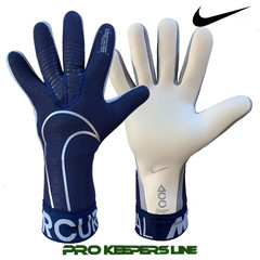 NIKE GK MERCURIAL TOUCH ELITE BLUE VOID/METALLIC SILVER
