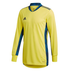 ADIDAS ADIPRO 20 GK JERSEY LS SHOCK YELLOW/TEAM NAVY BLUE