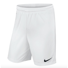 NIKE PARK KNIT SHORT WHITE