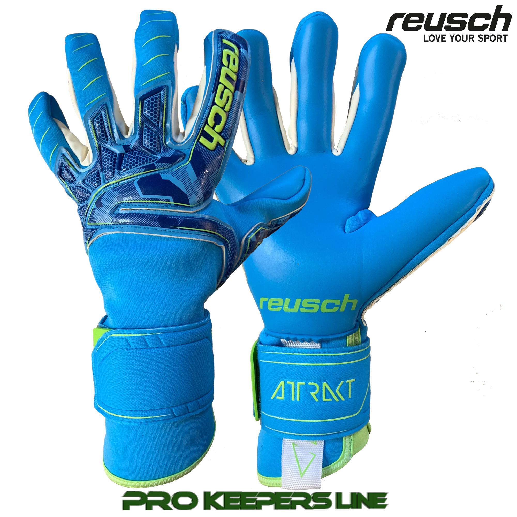 Reusch Attrakt Pro Ax2 Evolution Nc Ortho-tec Goalkeeper Gloves