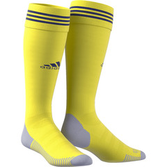 ADIDAS ADI SOCK 18 SHOCK YELLOW/TEAM NAVY BLUE