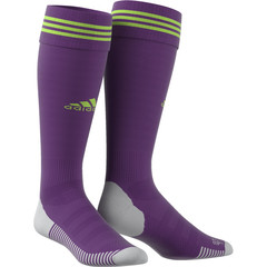 ADIDAS ADI SOCK 18 GLORY PURPLE/SEMI SOLAR GREEN