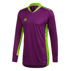 ADIDAS ADIPRO 20 GK JERSEY LS GLORY PURPLE/SEMI SOLAR GREEN JUNIOR