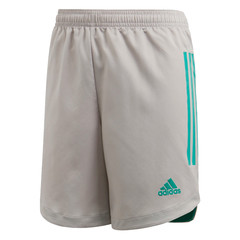 ADIDAS CONDIVO 20 SHORT TEAM MID GREY/GLORY GREEN JUNIOR