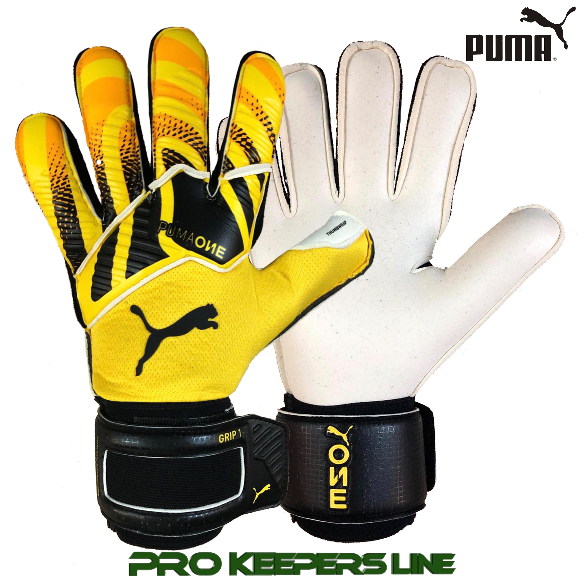 Intuición Preciso madre  PUMA ONE GRIP 1 RC ULTRA YELLOW/BLACK - Pro Keepers Line