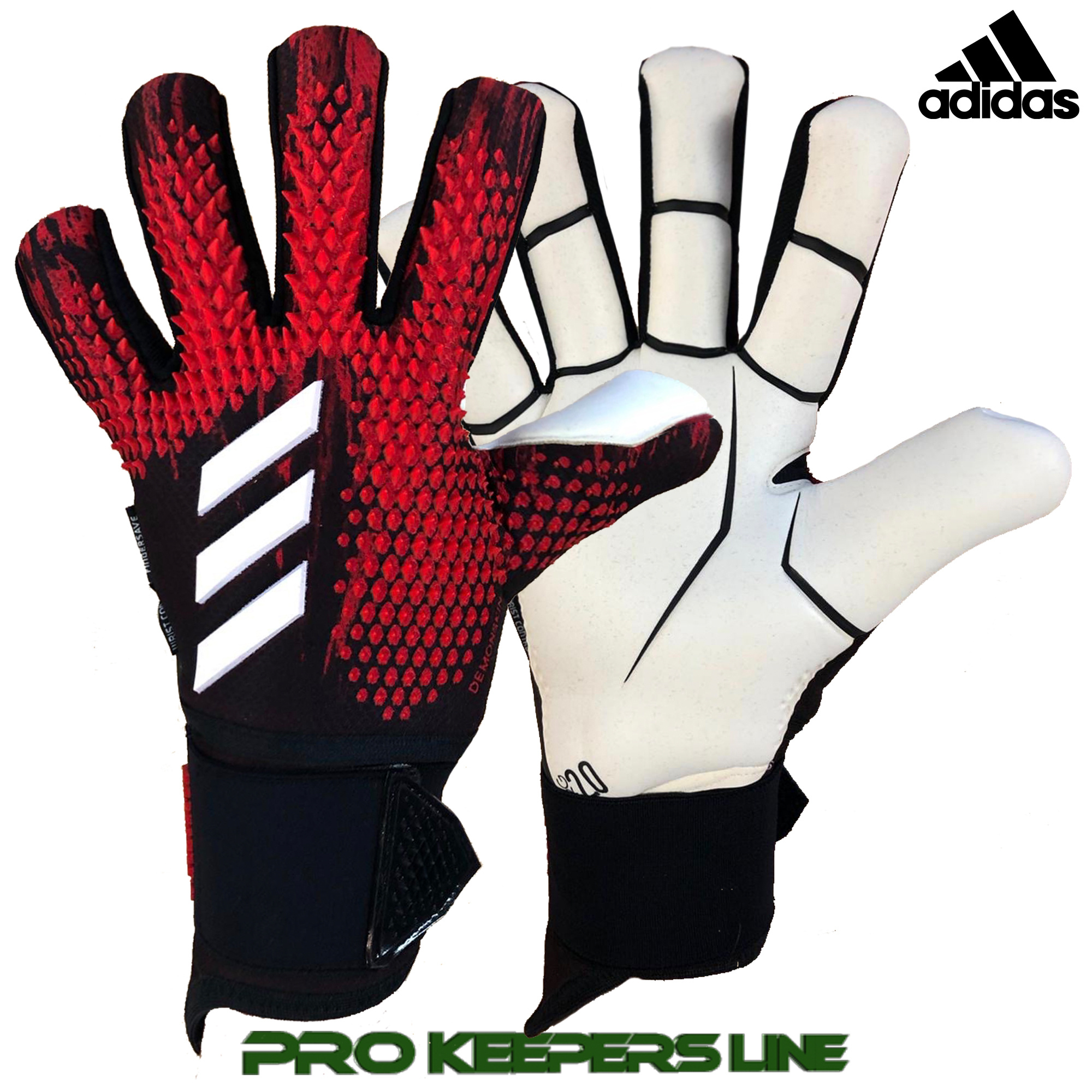 ADIDAS PREDATOR GL PRO ULTIMATE BLACKACTIVE RED