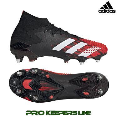 ADIDAS PREDATOR MUTATOR 20 SG CORE BLACK/FOOTWEAR WHITE/ACTIVE RED