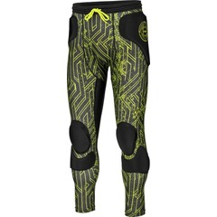 REUSCH CS FEMUR 3/4 SHORT PADDED BLACK/LIME