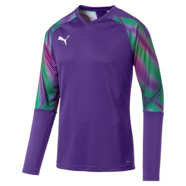 PUMA CUP GK JERSEY LS PRISM VIOLET-BRIGHT GREEN