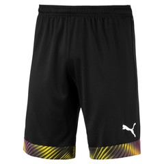 PUMA CUP SHORTS PUMA BLACK/ FUCHSIA PURPLE