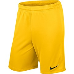 NIKE LEAGUE KNIT SHORT NB TOUR YELLOW JUNIOR