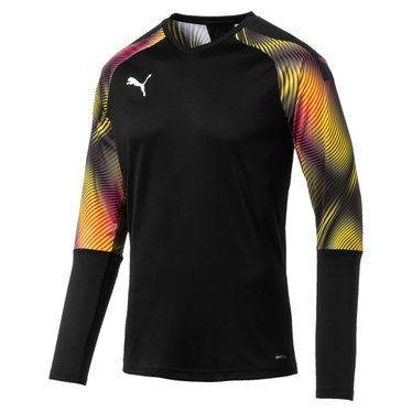 PUMA CUP GK JERSEY LS PUMA BLACK/ FUCHSIA PURPLE JUNIOR