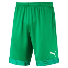 PUMA CUP SHORTS BRIGHT GREEN/PRISM VIOLET JUNIOR