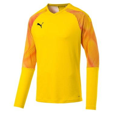 PUMA CUP GK JERSEY LS CYBER YELLOW-PUMA BLACK JUNIOR