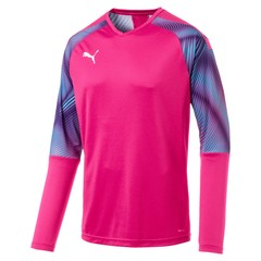 PUMA CUP GK JERSEY LS FUCHSIA PURPLE/AQUARIUS JUNIOR