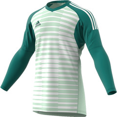 ADIDAS ADIPRO 18 GOALKEEPER JERSEY TECH FOREST/AERO GREEN/OFF WHITE