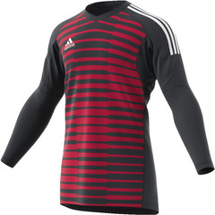 ADIDAS ADIPRO 18 GOALKEEPER JERSEY DARK GREY/UNITY PINK/WHITE JUNIOR