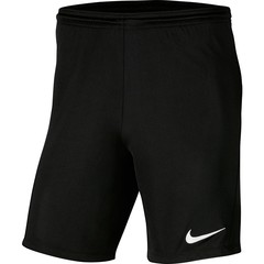 NIKE DRI-FIT PARK III SHORT BLACK JUNIOR