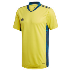 ADIDAS ADIPRO 20 GK JERSEY SS SHOCK YELLOW/TEAM NAVY BLUE