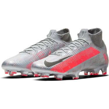 NIKE MERCURIAL SUPERFLY 7 ELITE FG MTLC BOMBER GRY/BLACK-PARTICLE GREY