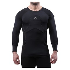 ELITE SPORT BODY SHIELD 3/4 SLEEVE PADDED COMPRESSION SHIRT
