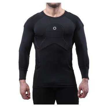 ELITE SPORT BODY SHIELD 3/4 SLEEVE PADDED COMPRESSION SHIRT JUNIOR