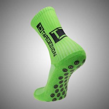 TAPE DESIGN ALLROUND SOCKS CLASSIC NEON GREEN