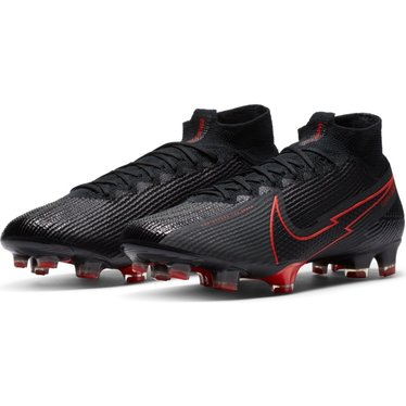 NIKE MERCURIAL SUPERFLY 7 ELITE FG BLACK/BLACK-DK SMOKE GREY