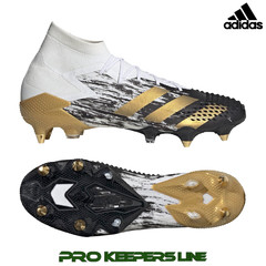 ADIDAS PREDATOR MUTATOR 20.1 SG CLOUD WHITE / GOLD METALLIC/ CORE BLACK