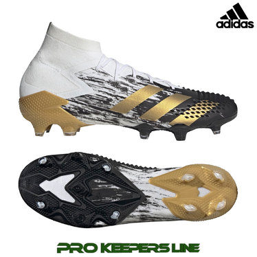 ADIDAS PREDATOR MUTATOR 20.1 FG CLOUD WHITE / GOLD METALLIC/ CORE BLACK