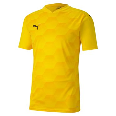 PUMA TEAMFINAL 21 GRAPHIC JERSEY CYBER YELLOW-SPECTRA YELLOW
