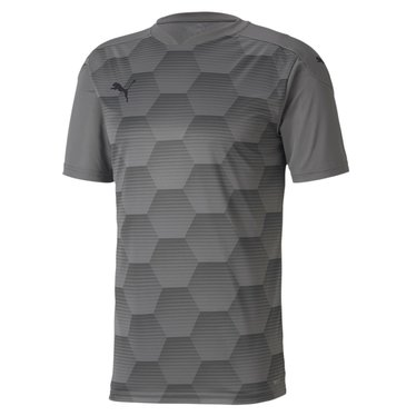 PUMA TEAMFINAL 21 GRAPHIC JERSEY STEEL GRAY-PUMA BLACK