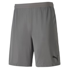 PUMA TEAMFINAL 21 KNIT SHORTS STEEL GRAY